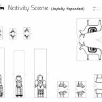 Madejoel » Paper City Nativity Scene (Joyfully Expanded!)   Free Printable Nativity Scene Pictures