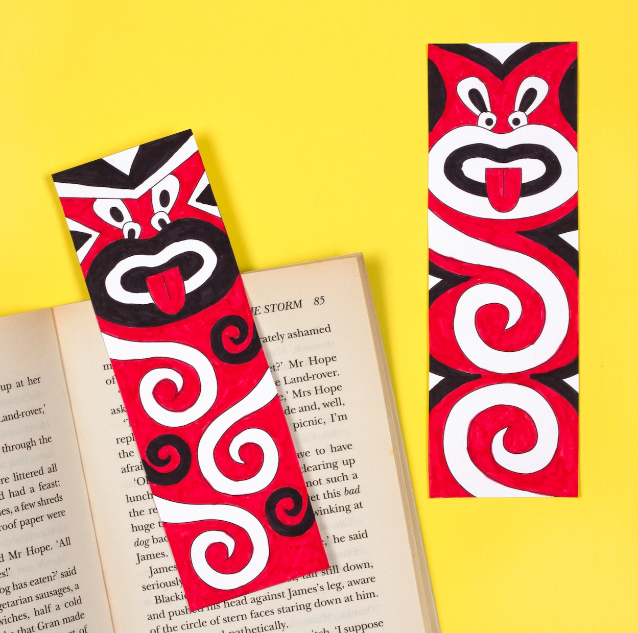Maori Art Bookmarks | Free Craft Ideas | Baker Ross - Free Printable Bible Bookmarks Templates