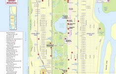 Maps Of New York Top Tourist Attractions – Free, Printable – Free Printable Map Of Manhattan