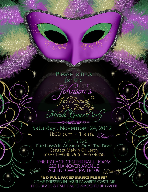 Mardi Gras Wedding Invitation Wording - Google Search | Mardi Gras - Free Printable Mardi Gras Invitations