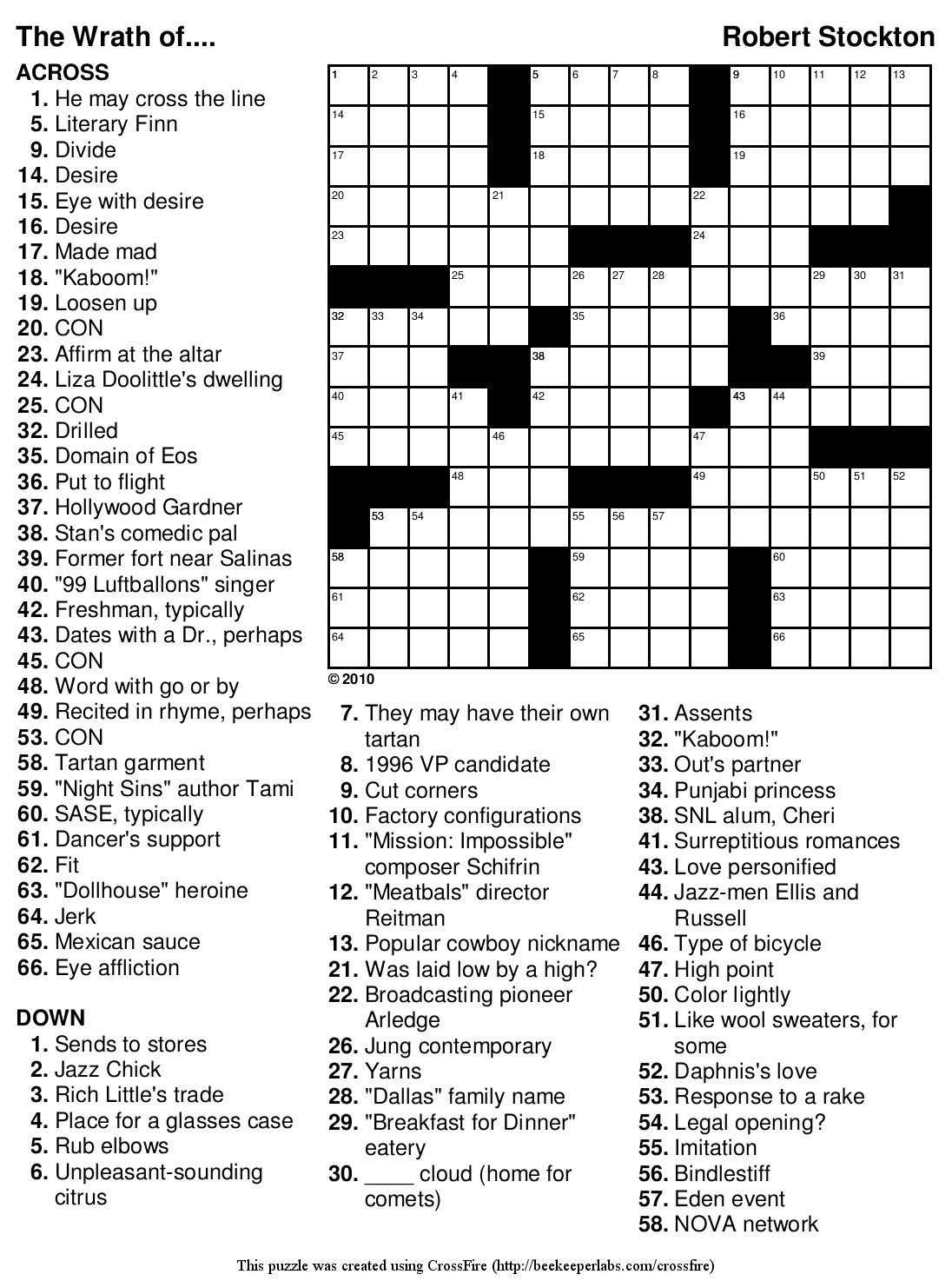 Marvelous Crossword Puzzles Easy Printable Free Org | Chas's Board - Free Printable Easy Fill In Puzzles