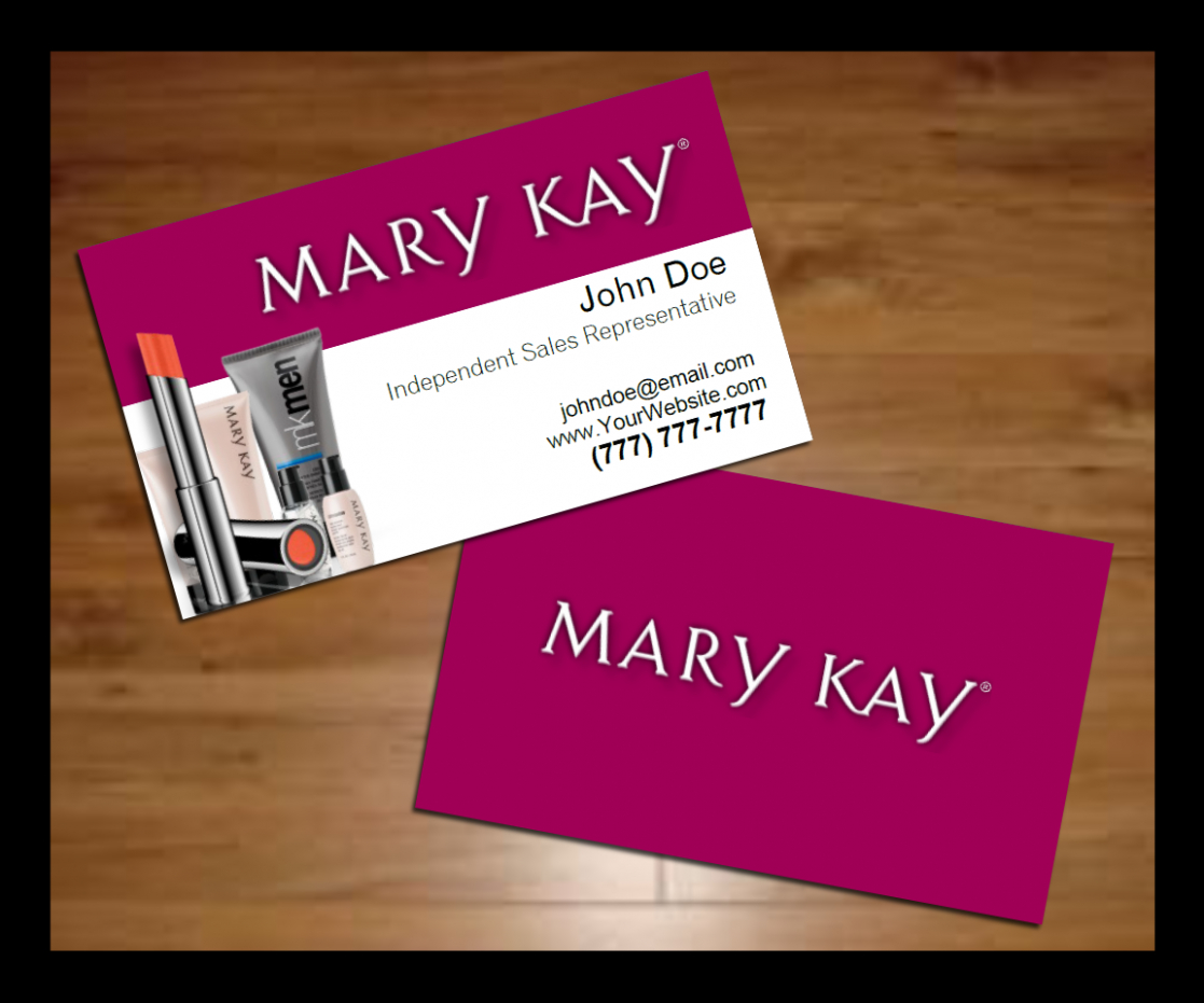 Mary Kay Business Card Holder   Business Cards - Free Printable Mary Kay Business Cards