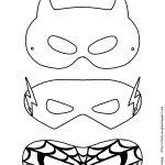 Mask Printable | Free Printable Superhero Mask Template | Masks   Free Printable Paper Masks