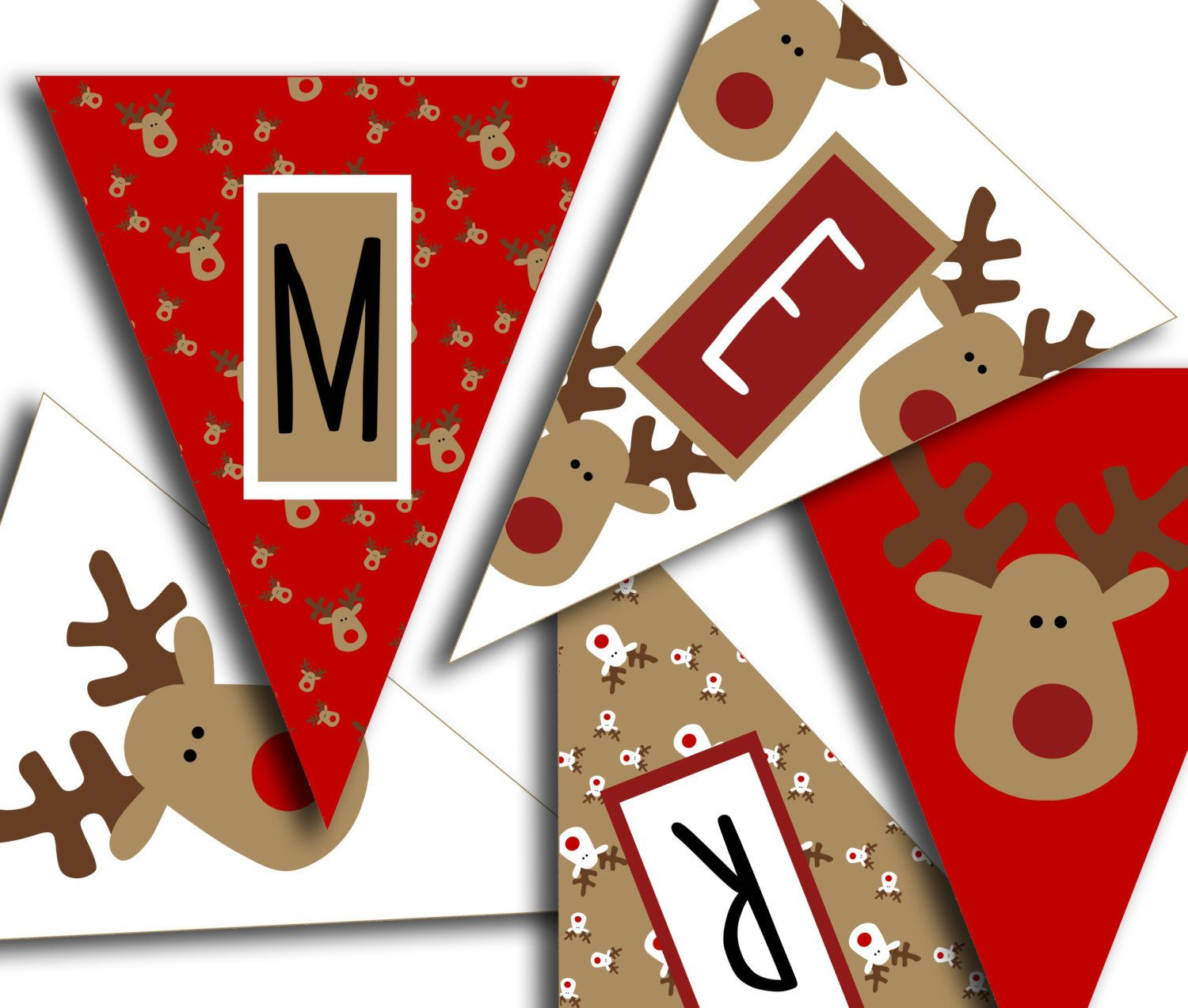 Merry Christmas Banner - Christmas Party Printable Sign, Christmas - Free Printable Christmas Banner