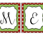 Merry+Christmas+Banner+Letters+Free+Printables | Printables   Free Printable Christmas Banner