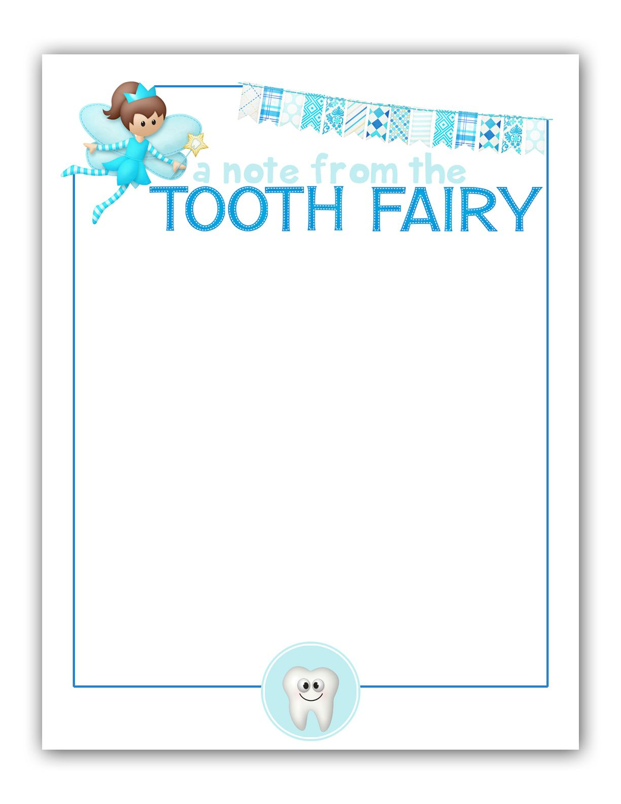 M|K Designs Blog: Tooth Fairy Stationary - Free Printable | Tooth - Free Printable Tooth Fairy Pictures