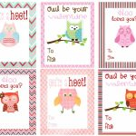 Mommy Hints: 7 Free Printable Valentine's Day Cards For Kids To Take   Free Printable Childrens Valentines Day Cards