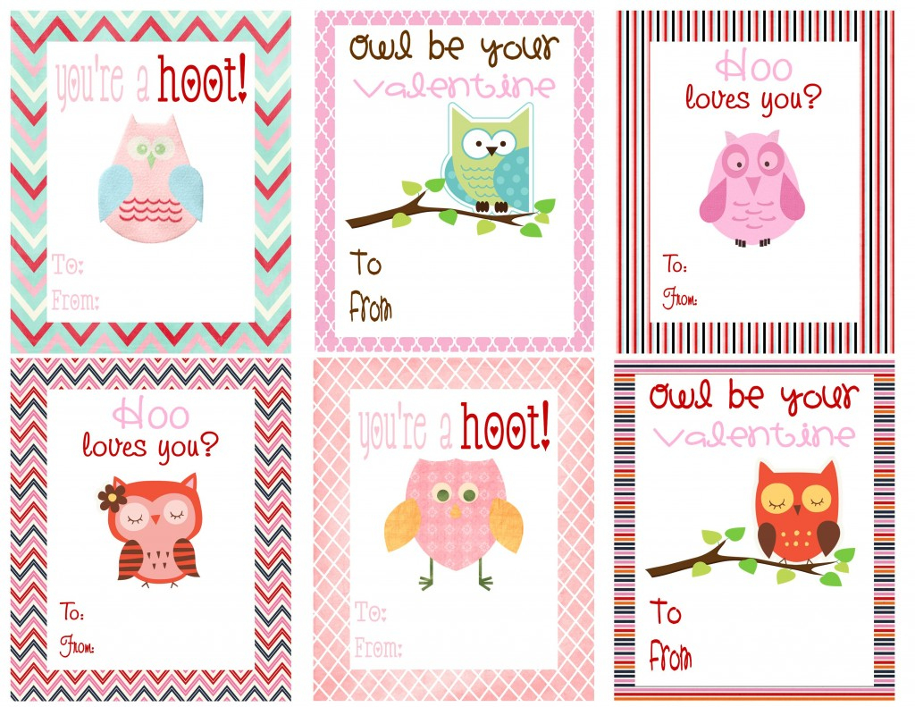 Mommy Hints: 7 Free Printable Valentine's Day Cards For Kids To Take - Free Printable Childrens Valentines Day Cards