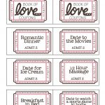 Mommyday Crafternight: {Free Printable} Valentine Coupon Book   Free Printable Coupons For Husband