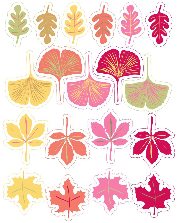 Mon Herbier Imaginaire | Free Printables & Digital Freebies - Free Printable Pictures Of Autumn Leaves
