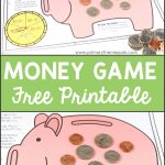Money Activities For Second Grade | Math Activities For Kids | Money   Free Printable Game Money