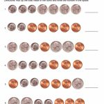 Money Worksheets For Kindergarten For Printable   Math Worksheet For   Free Printable Money Worksheets For Kindergarten
