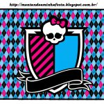 Monster High: Free Printable Labels And Toppers. | Oh My Fiesta! In   Free Printable Monster High Stickers