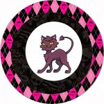 Monster High Halloween Special Free Printable Kit. | Oh My Fiesta   Free Printable Monster High Stickers