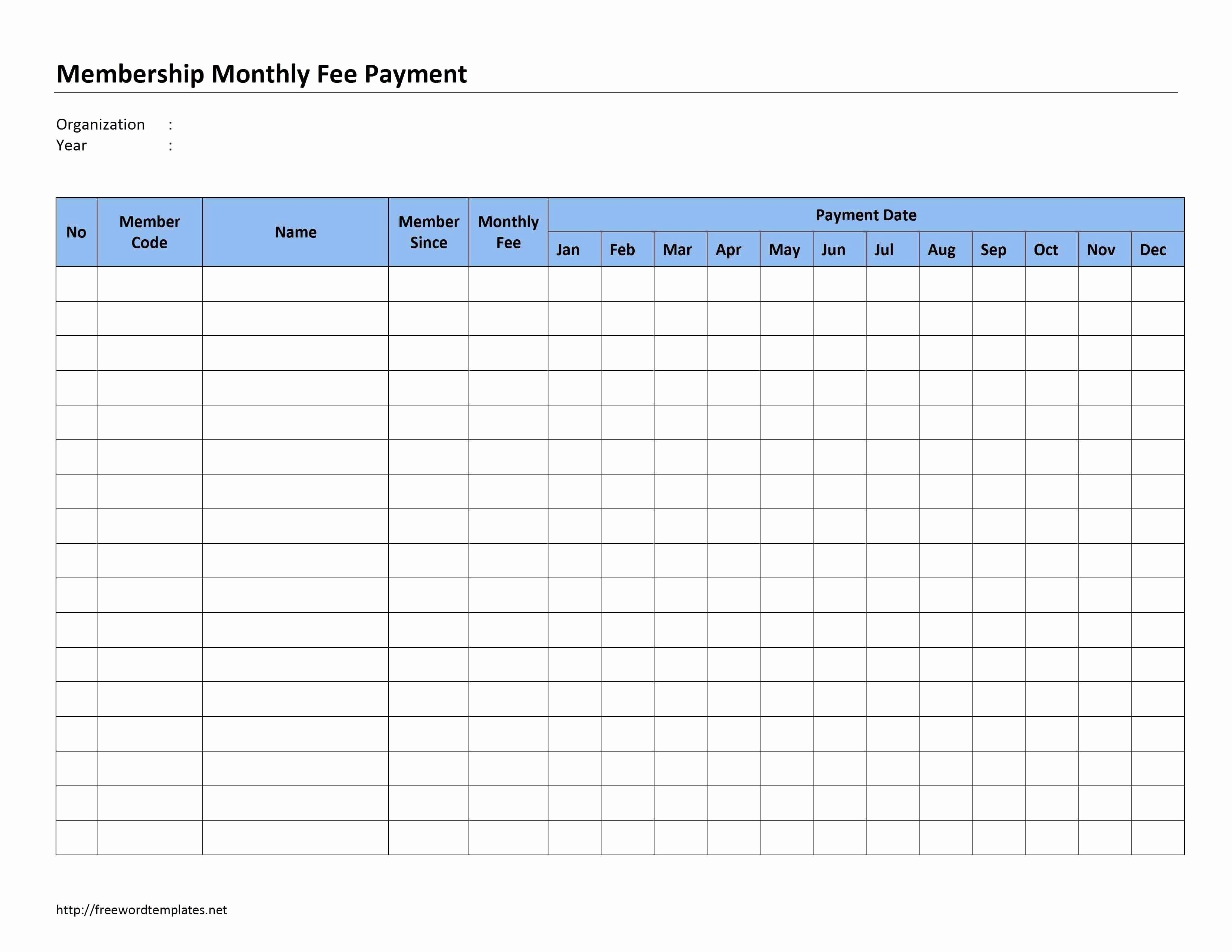 Monthly Bill Organizer Template Excel Free Printable Bill Payment - Free Printable Bill Organizer