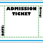 Mormon Share } Admission Ticket | Party :p | Ticket Template, Movie   Free Printable Admission Ticket Template