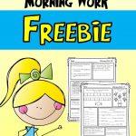 Morning Work For Third Grade (Third Quarter) | Free Educational   Free Printable 4Th Grade Morning Work