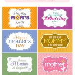 Mother's Day Free Printable Tags | Mother's Day And Grandmother   Free Printable Mothers Day Cards No Download