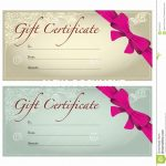 Mother's Day Gift Certificate Templates Certificates Free Printable   Free Printable Gift Certificates For Hair Salon