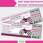 Motorcycle Birthday Invitation Templates   Lera Mera Business   Motorcycle Invitations Free Printable
