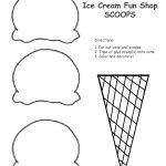 Multiplication Ice Cream Scoops Printable – Ezzy   Ice Cream Cone Template Free Printable