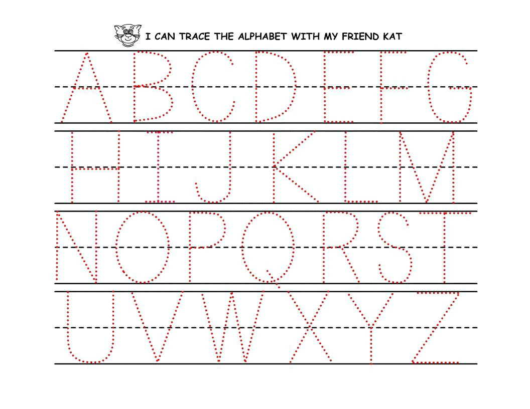 Name Tracer Pages – Pointeuniform.club - Free Printable Preschool Name Tracer Pages