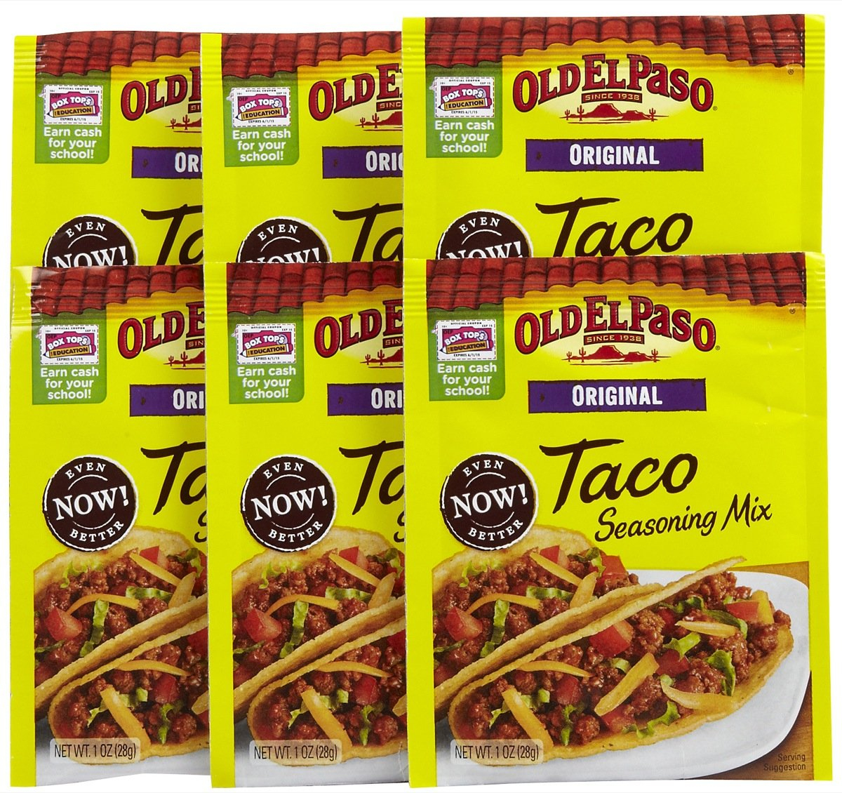 New Old El Paso Coupon - Free Taco Seasoning At Many Stores - Ftm - Free Printable Old El Paso Coupons
