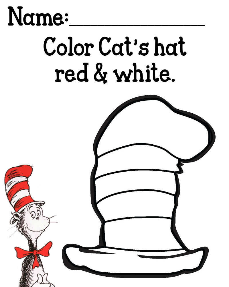 Nice Cat In The Hat Template Printable Pictures. Hat Printables For - Free Printable Cat In The Hat Pictures