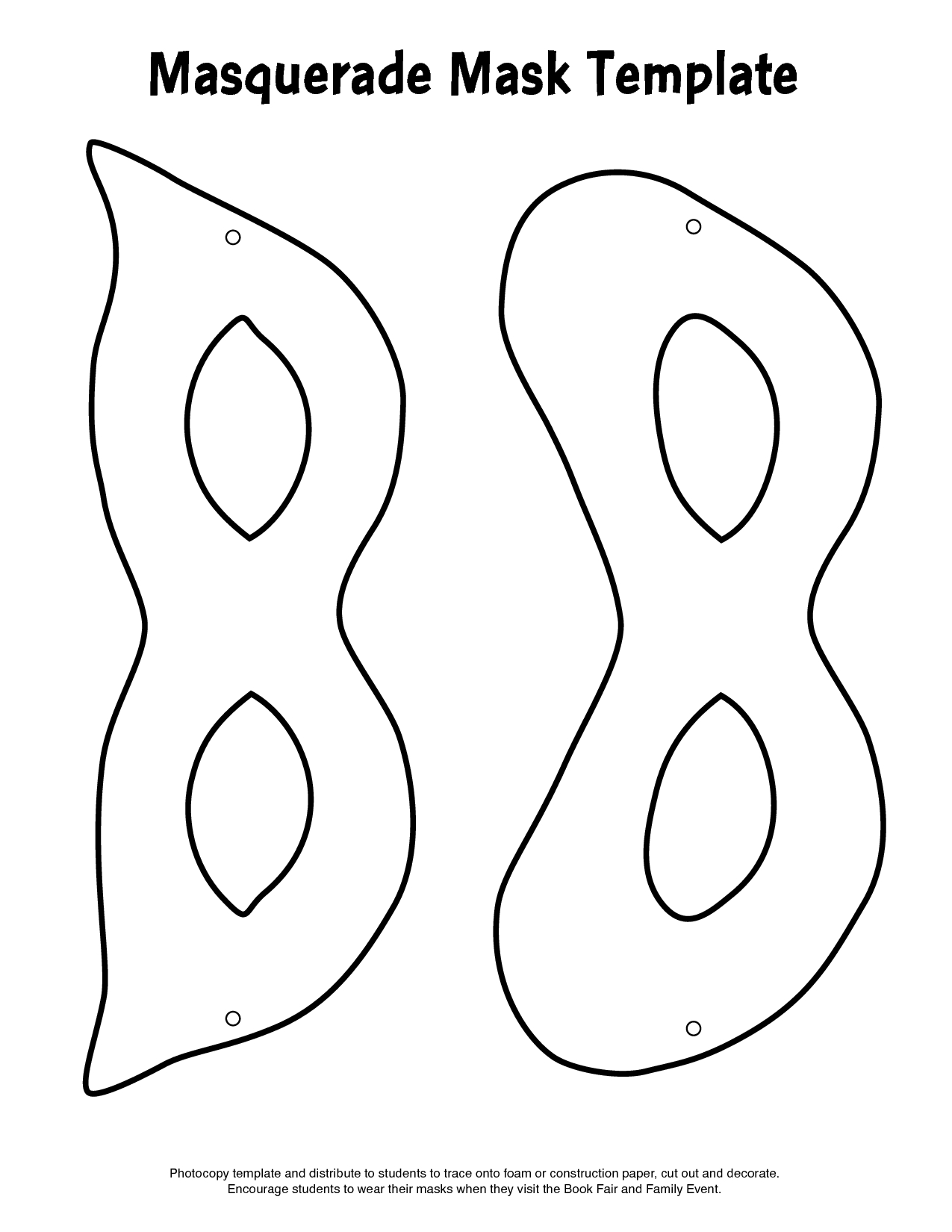 Nice Free Printable Mask Templates Pictures Inspiration Entry - Free Printable Paper Masks