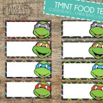 Ninja Turtles Food Tents Tmnt Food Tents Ninjaombredesigns   Free Printable Tmnt Food Labels