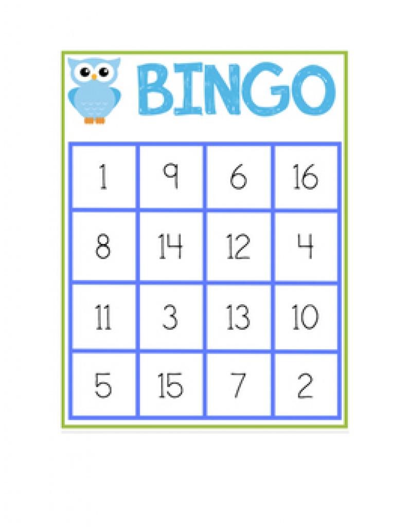 Number Bingo 1-20 Teaching Resources | Teachers Pay Teachers With - Free Printable Bingo Cards For Teachers