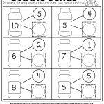 Number Bubble Bonds (Cut And Paste)   Kindergarten Activities   Free Printable Number Bond Template