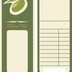 Olive Oil Label Template Royalty Free Vector Image   Free Printable Olive Oil Labels