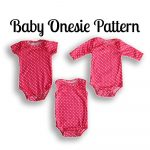 Onesie Sewing Pattern | Nb 36 Months | Projects To Try | Pinterest   Free Printable Onesie Pattern