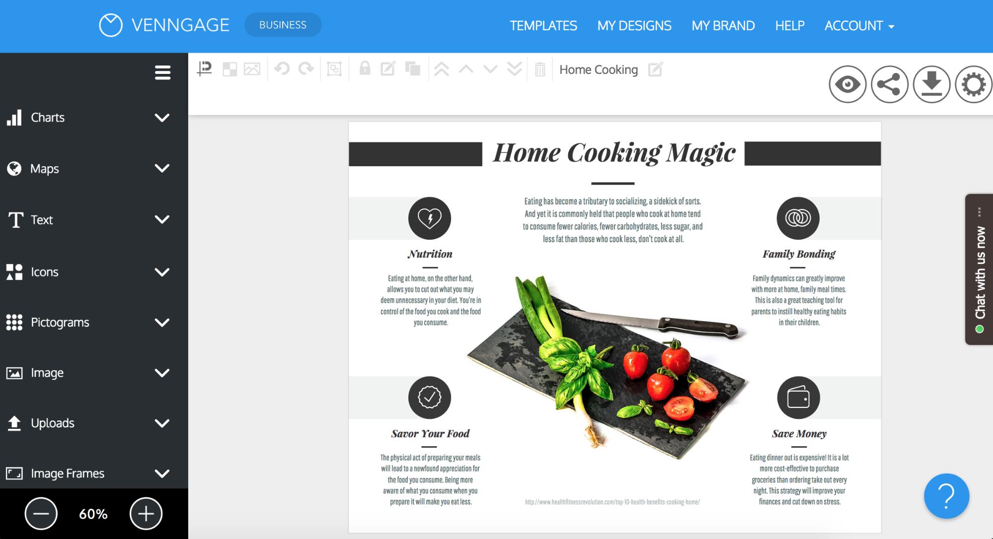 Online Brochure Maker - Make Your Own Brochure With Venngage - Online Brochure Maker Free Printable