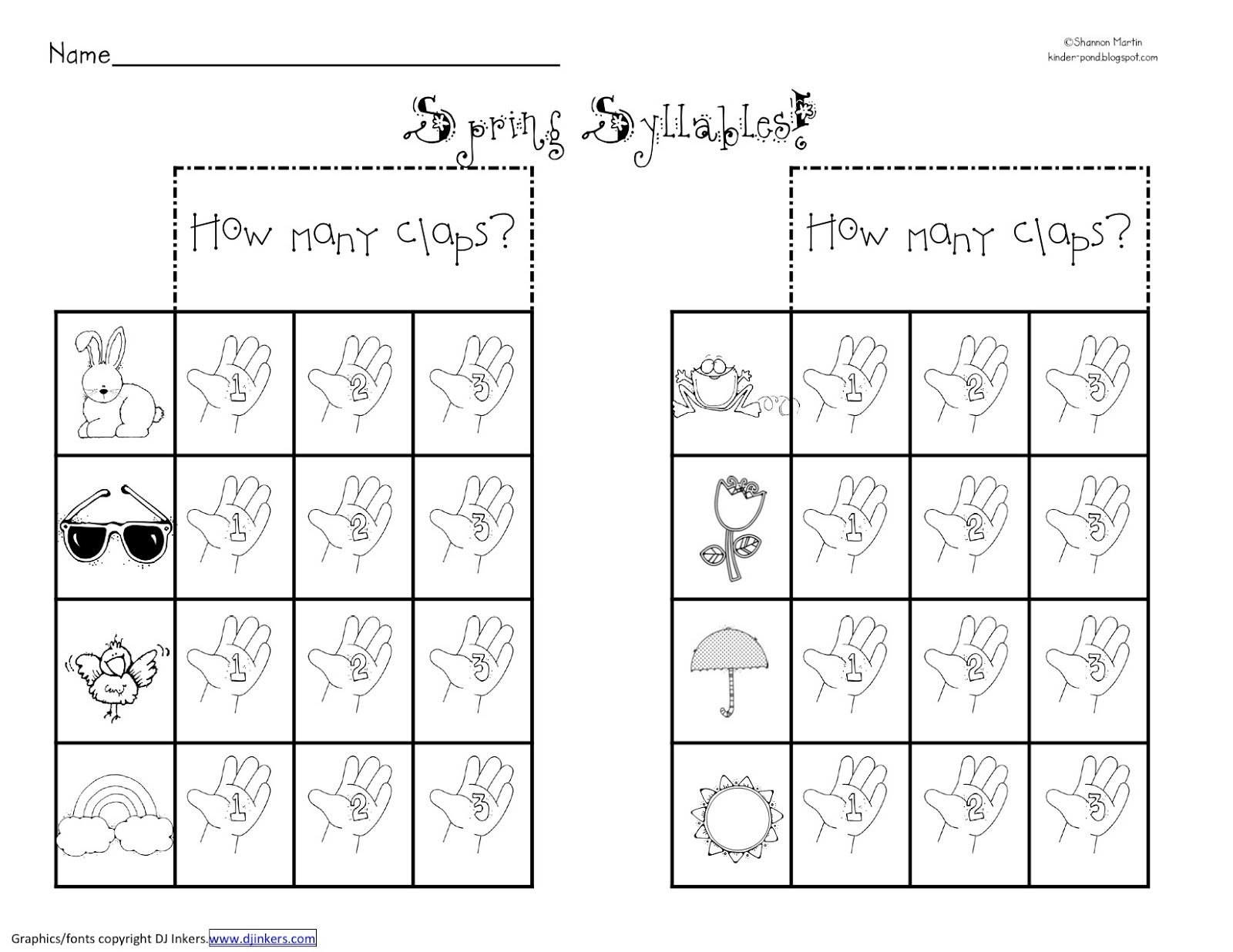 Open And Closed Syllable Worksheets | Free Printables Worksheet - Free Printable Open And Closed Syllable Worksheets