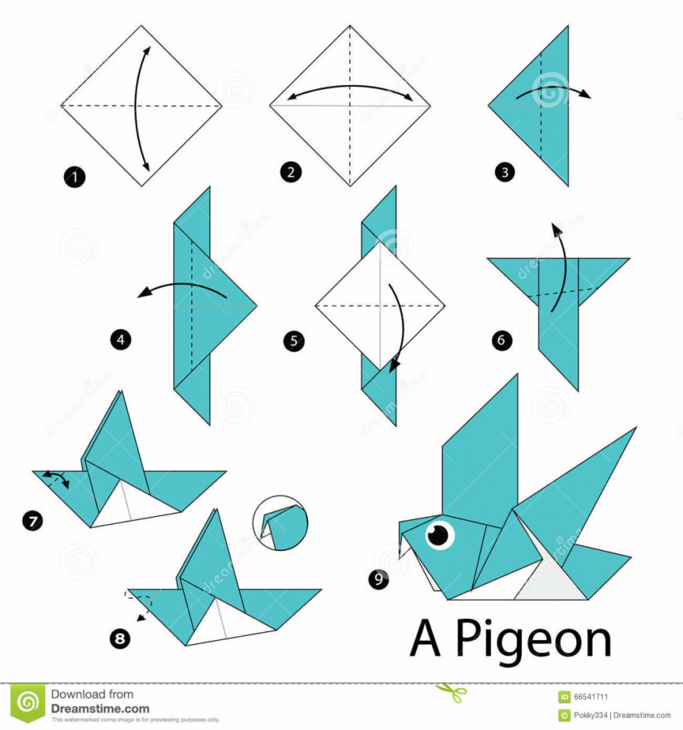 Origami: Best Origami Instructions Ideas On Origami Paper Origami - Free Easy Origami Instructions Printable