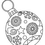 Ornaments Free Printable Christmas Coloring Pages For Kids | Paper   Xmas Coloring Pages Free Printable