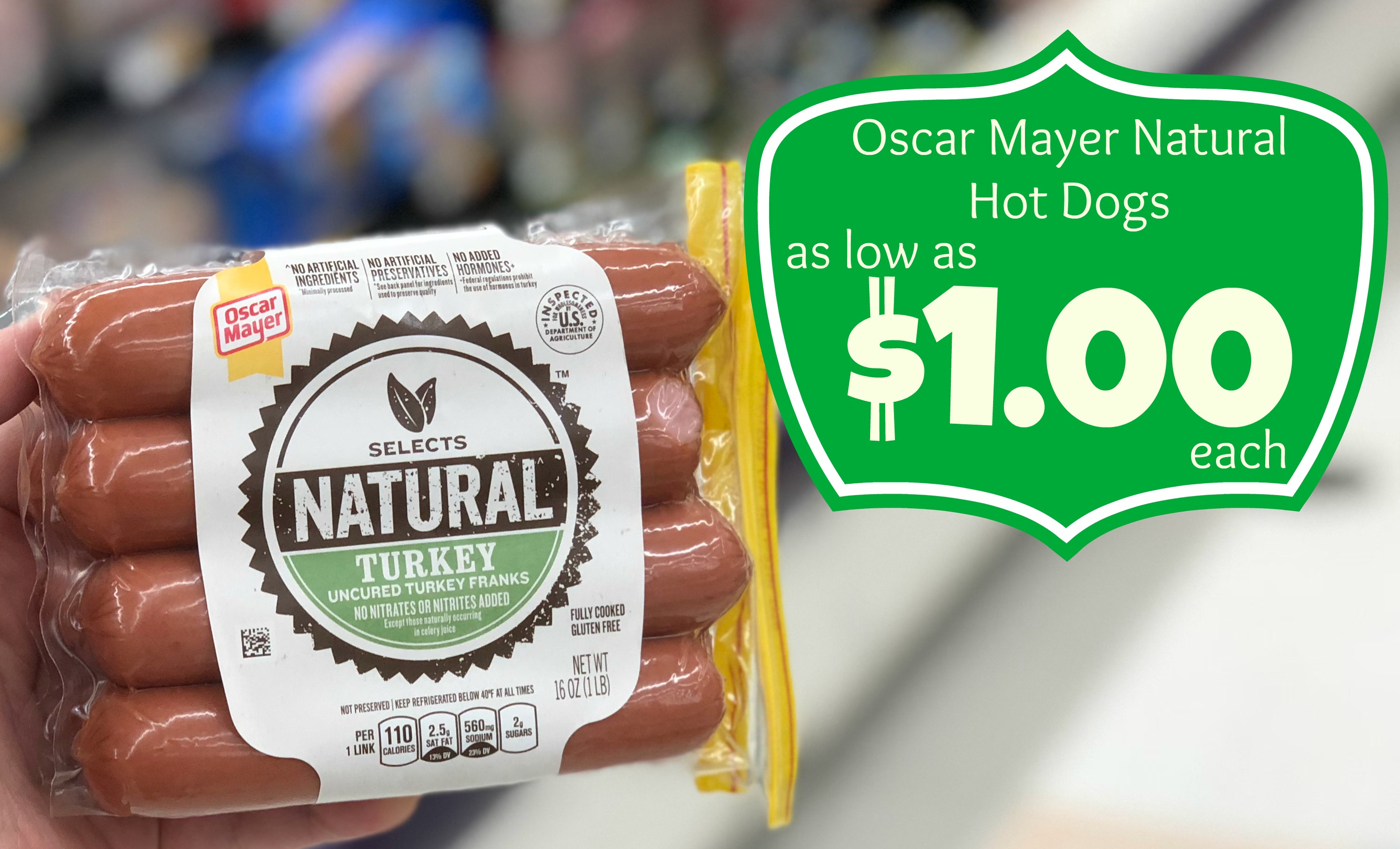 Oscar Mayer Natural Hot Dogs As Low As $1.00 Each At Kroger - Free Printable Oscar Mayer Coupons