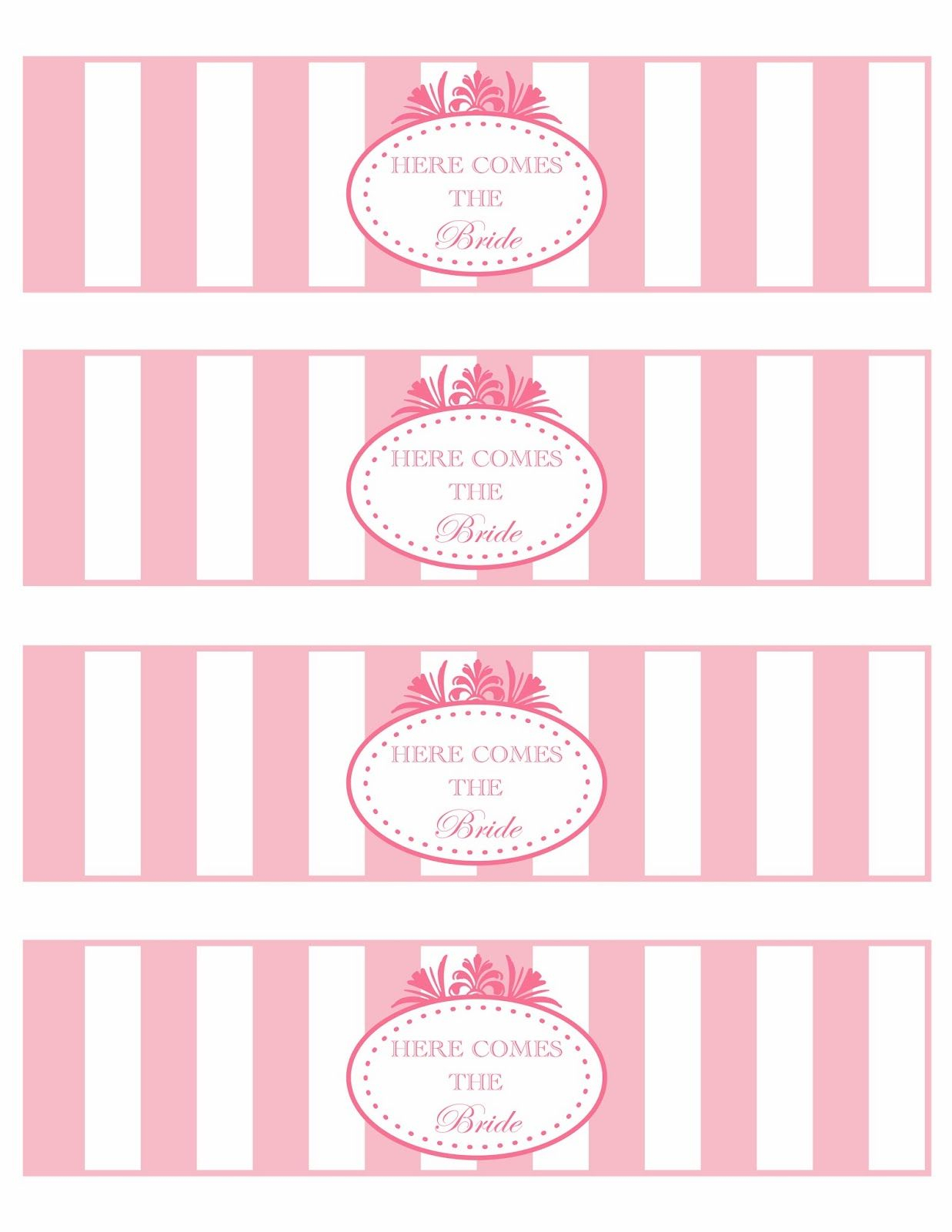 Paper Hat Designs & Printables: Free Printables | Bridal Shower - Free Printable Baby Shower Label Templates
