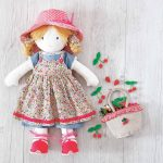 Pattern: Printable Rag Doll Sewing Pattern | Sewing | Pinterest   Free Printable Rag Doll Patterns