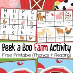 Peek A Boo Farm Animal Activity And Free Printable     Free Printable Farm Animals