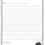 Pen Pal News + Friendly Letter Freebie   Teacher Idea Factory   Free Printable Letter Writing Templates