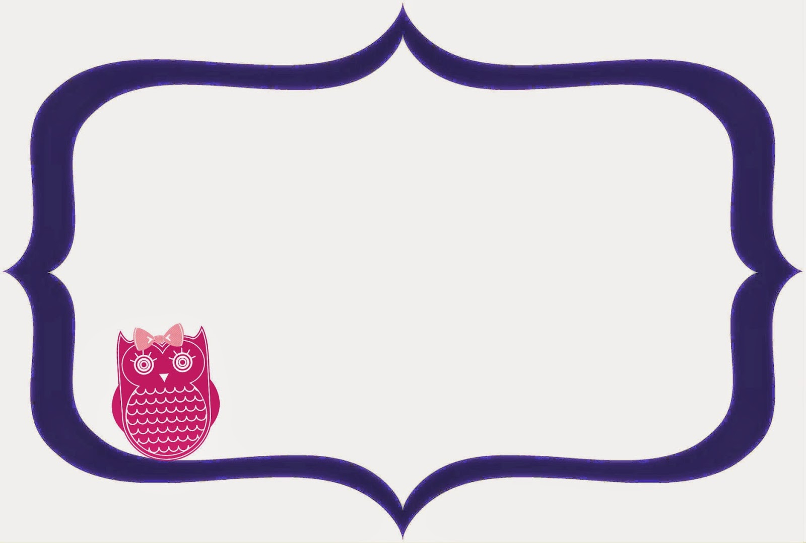Pepper And Roo Freebies: Free Printable Party Frames. Digital - Free Printable Frames For Scrapbooking
