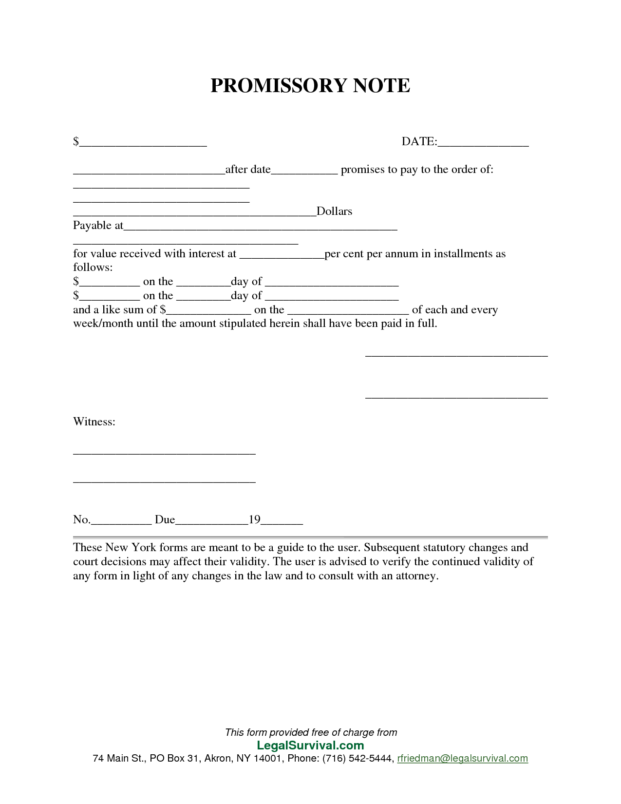 Permalink To Free Promissory Note Template … … | Templates | Pinte… - Free Promissory Note Printable Form