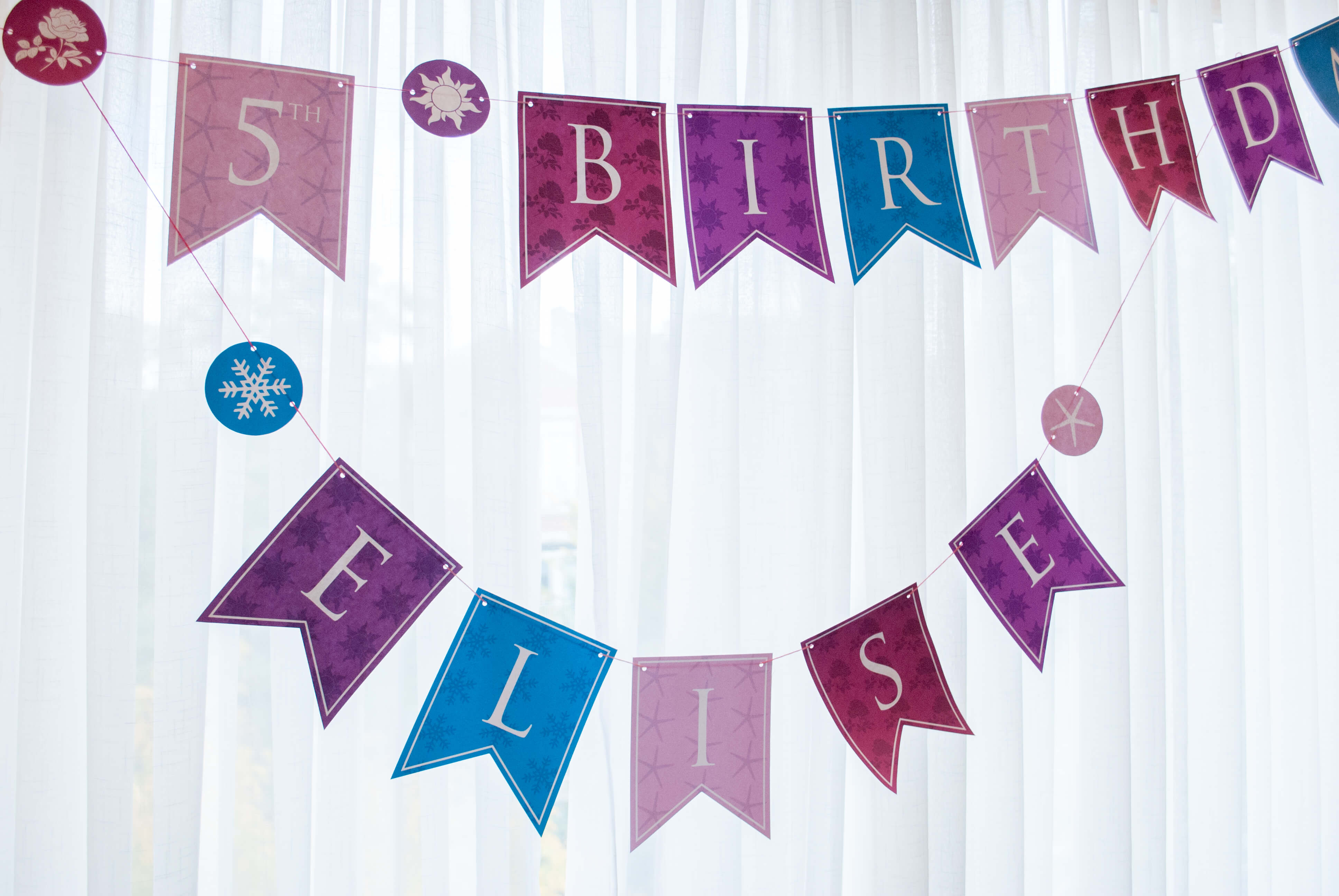 Personalized Princess Happy Birthday Banner Printable Pdf For 'all - Free Printable Princess Birthday Banner
