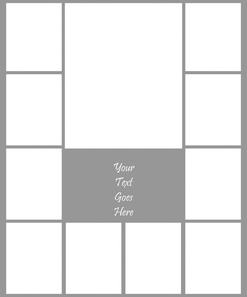 Photo Collage Template - Vaydile.euforic.co Inside Free Printable - Free Printable Photo Collage Template