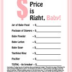 Photo : Free Printable Coed Baby Image   Free Printable Baby Shower Games With Answer Key