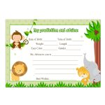 Photo : Popular Items For Jungle Image   Free Printable Lion King Baby Shower Invitations