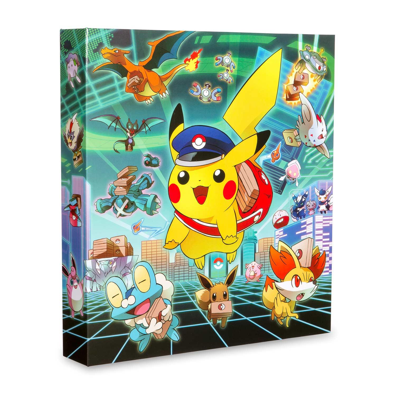 Pikachu Grand Opening 3-Ring Binder | Pokémon Center Original - Pokemon Binder Cover Printable Free